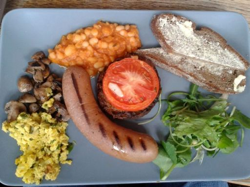 inSpiral vegan fry up