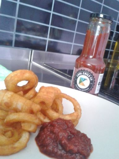 Cool Chile chipotle ketchup