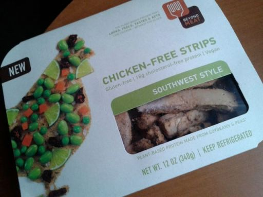 Beyond Meat southern style chicken-free strips