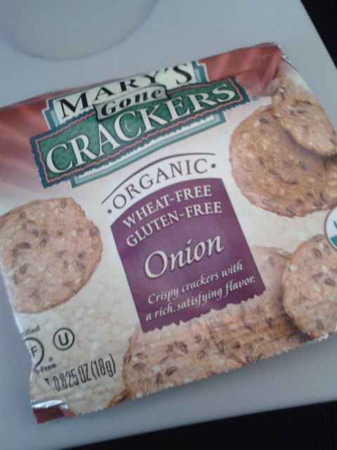 Mary's onion gluten-free Gone Crackers