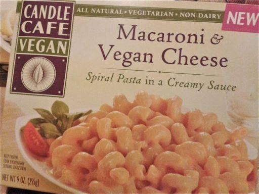 Candle Cafe macaroni & vegan cheese