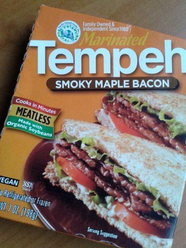 Tofurky smoky maple bacon tempeh