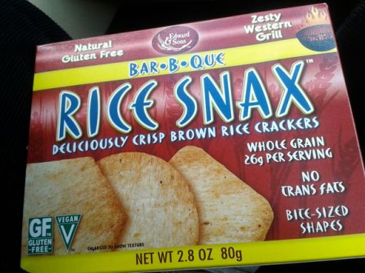 Rice Snax by Edward & Sons