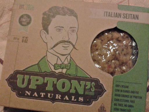 Italian seitan by Upton's Naturals