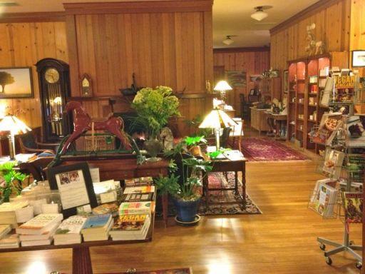 Hotel lobby & book store