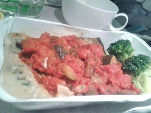 Main meal PHI-LHR