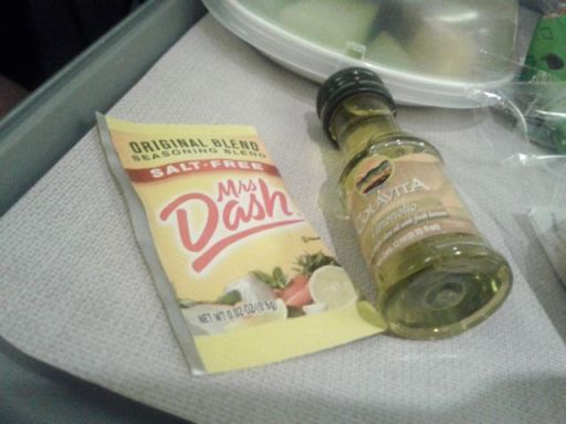Oil & a dash of Mrs Dash