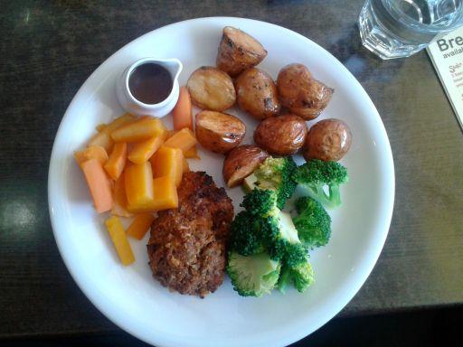 Vegan roast dinner