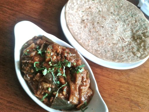 Aubergine Masala - disappointing