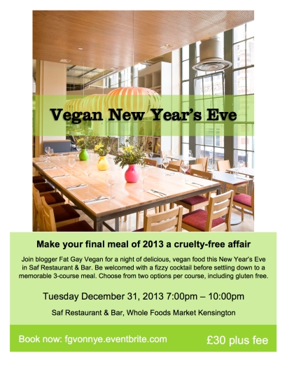 Happier times - FGV NYE party flyer