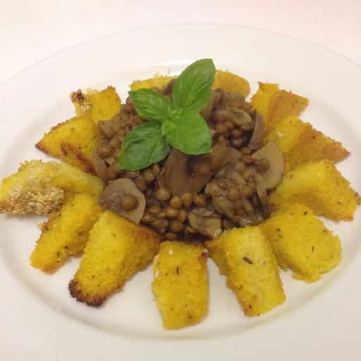 Delicious polenta dish