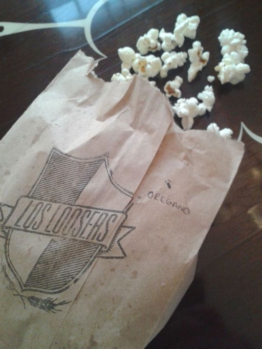 Special recipe popcorn