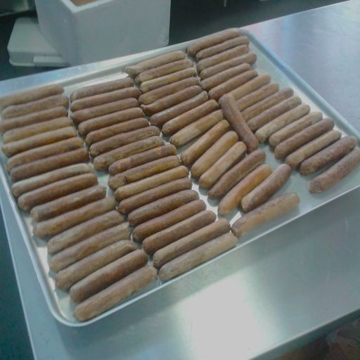 We served a LOT of sausages on the day