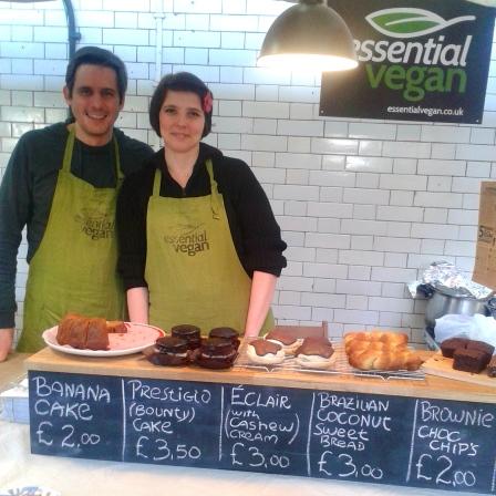 Essential Vegan at Brick Lane