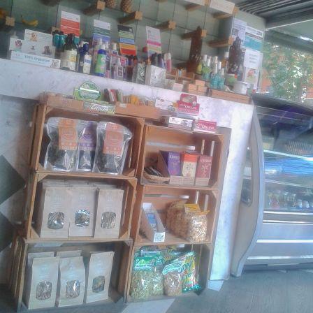 Lots of vegan groceries & pantry items inside